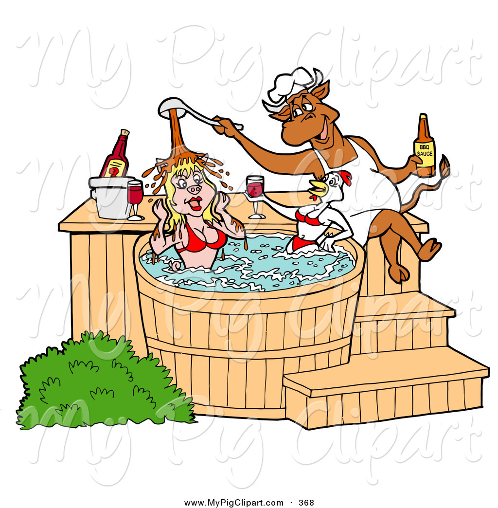 Barbecue Sauce clipart cute In and Designs Tub Hot