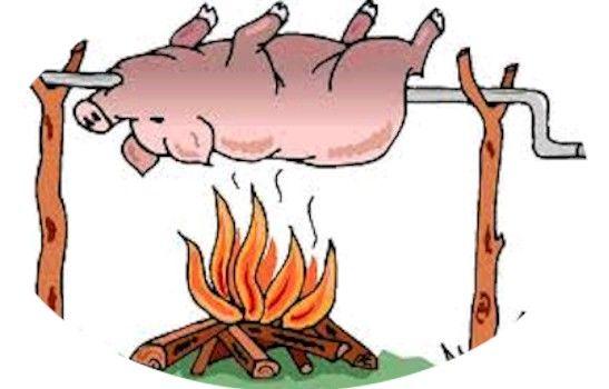 Pork clipart christmas pig Hog roast Hog etc Best