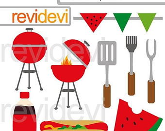 Barbecue Sauce clipart summer bbq Barbecue clip summer BBQ art