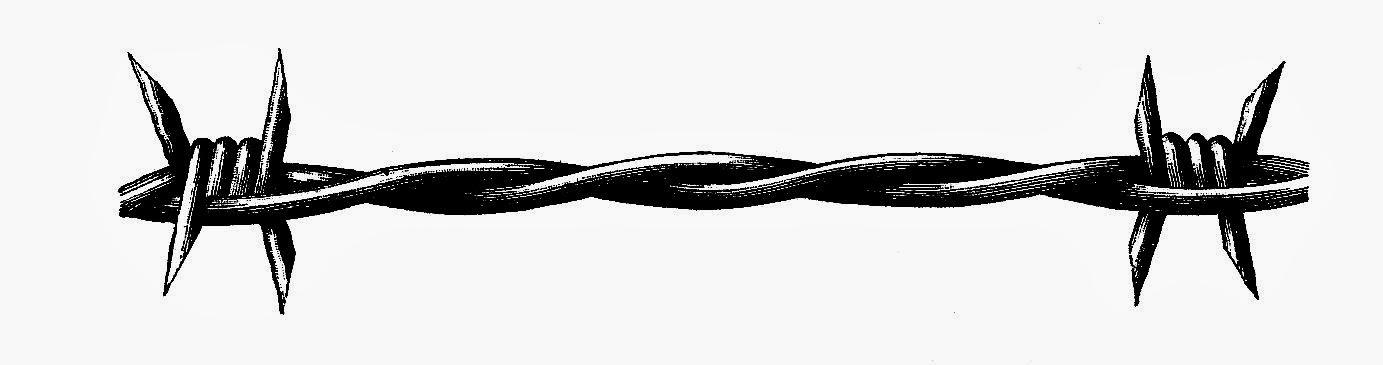 Barb Wire clipart black and white Wire net Download Clip Wire