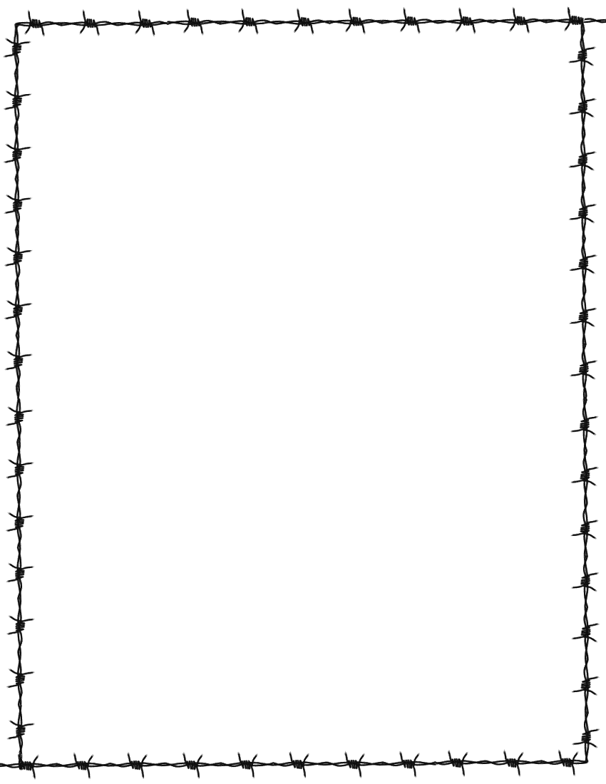Barb Wire clipart cartoon #13