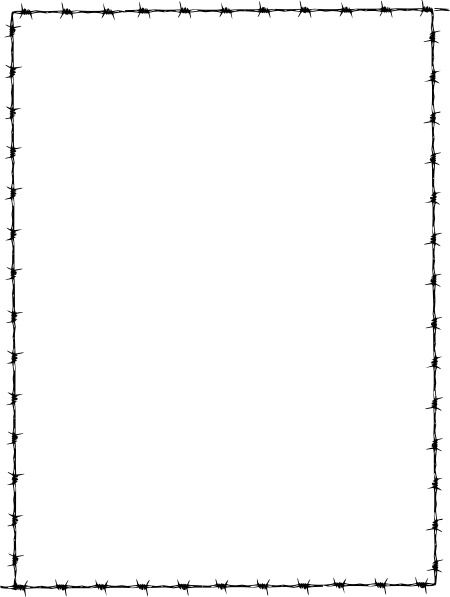 Barbed Wire clipart border Barbed  Border Revans Revans