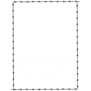 Barbed Wire clipart border Barbed Border Revans Revans Wire