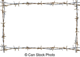 Barbed Wire clipart border Wire #5 Barbed Barbed clipart