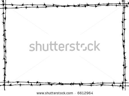 Barbed Wire clipart border Frame Frame Download Wire Clipart
