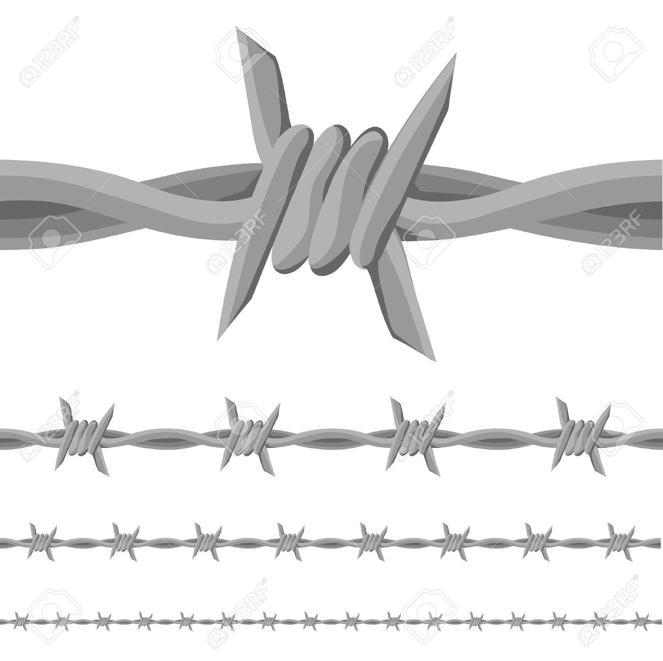 Wire clipart western Clipart Barbed Barbed wire collection