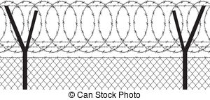 Wire clipart fencing wire Illustrations  738 Wire barbed