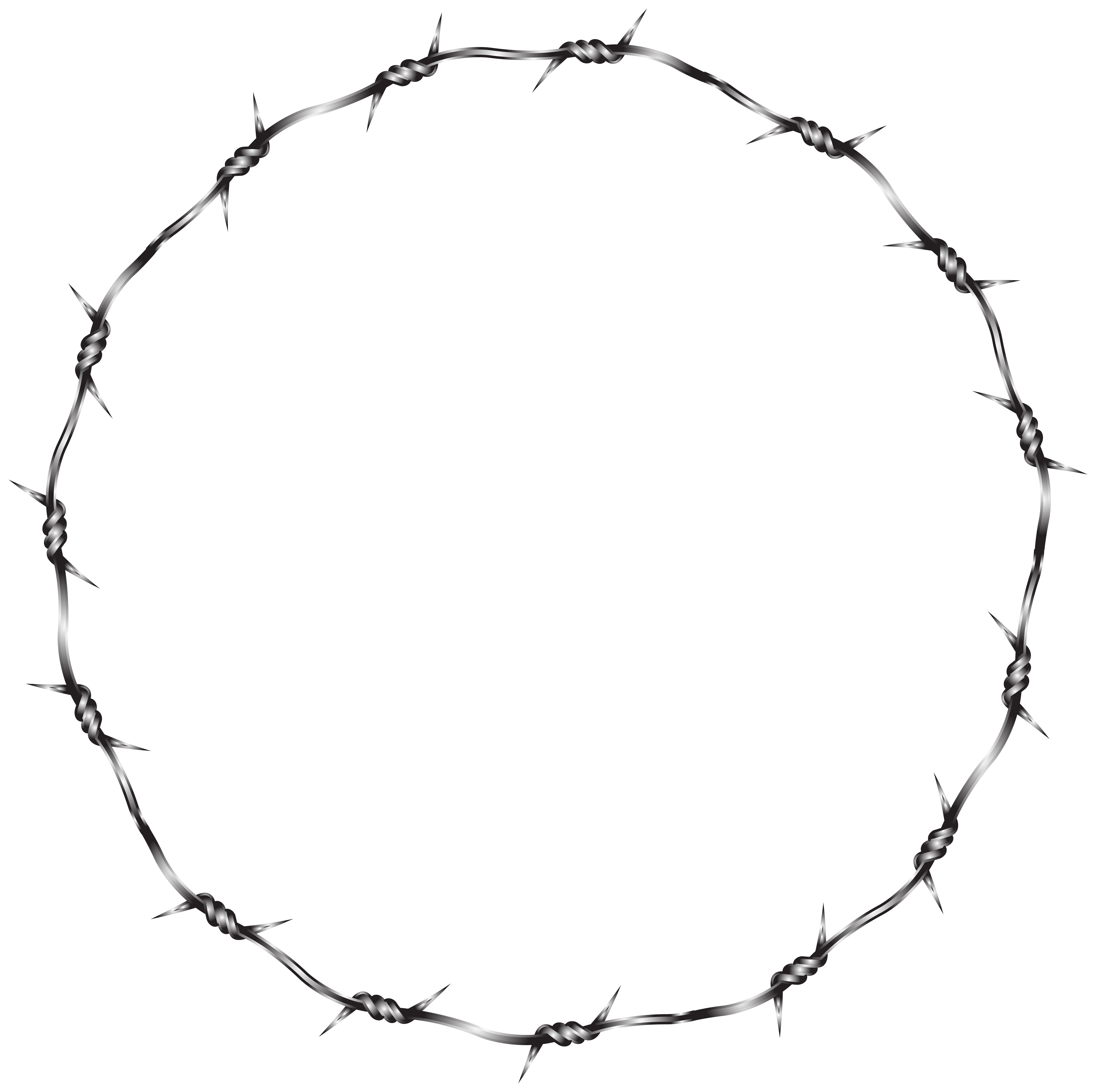 Barb Wire clipart circle #10