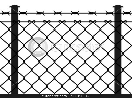 Wire clipart fencing wire Clip Barb Art Fence Barb