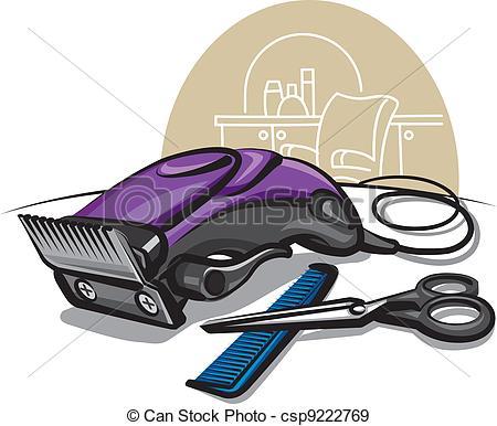 Barbet clipart hair clipper Of clipper hair Vectors clipper
