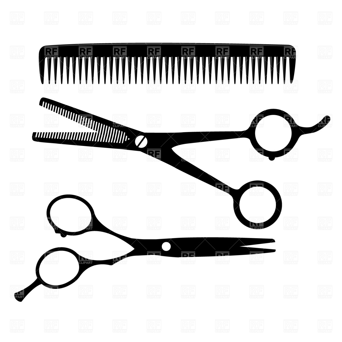 Barbet clipart stylist Art free Clipart Art Hair