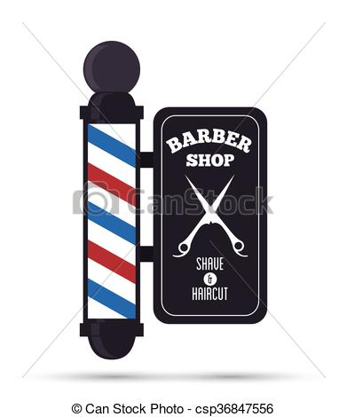 Barbet clipart stylist Barber vector illustration salon hair