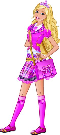 Beautiful clipart pink princess Barbie Clipart Art Barbie Clipart
