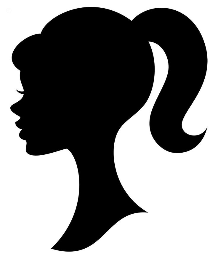Barbie clipart background Princess Best Silhouette Pinterest 25+
