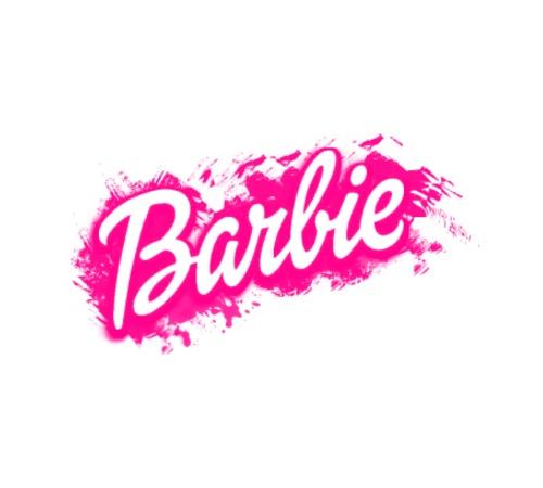 Barbie clipart barbie logo Pinterest BLACK font the images