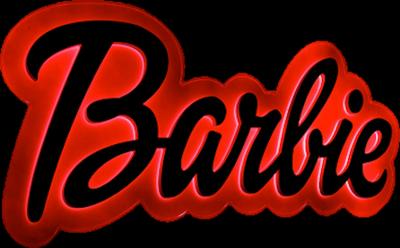 Barbie clipart barbie logo Logo Barbie collection Detail Neon