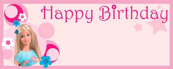 Barbie clipart birthday card Card Birthday Birthday Barbie Card