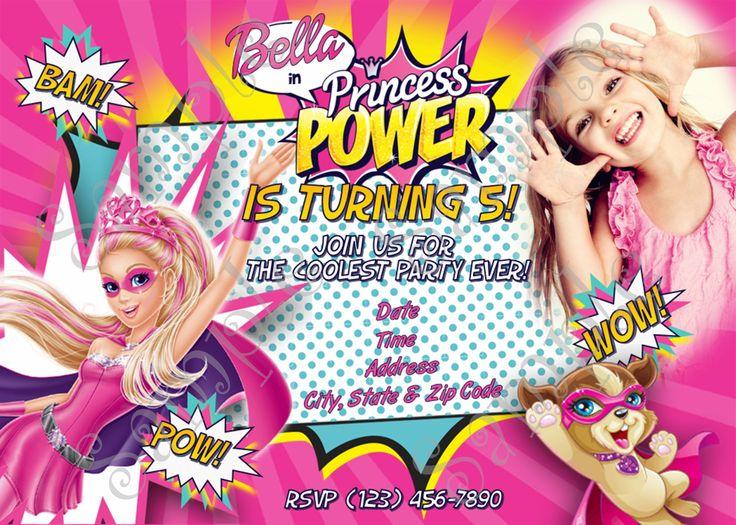 Barbie clipart birthday card Moana favor favor favor Moana