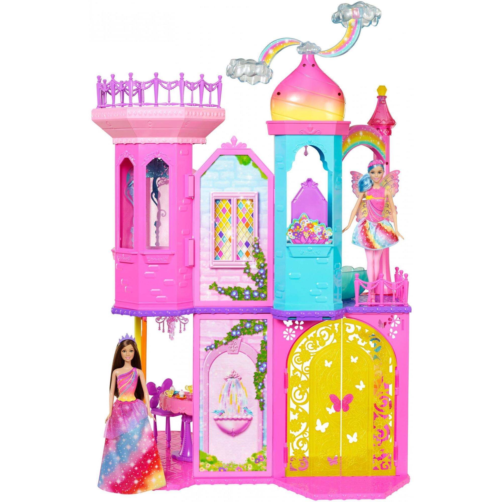 Drawn palace dancer Barbie Rainbow  com Princess