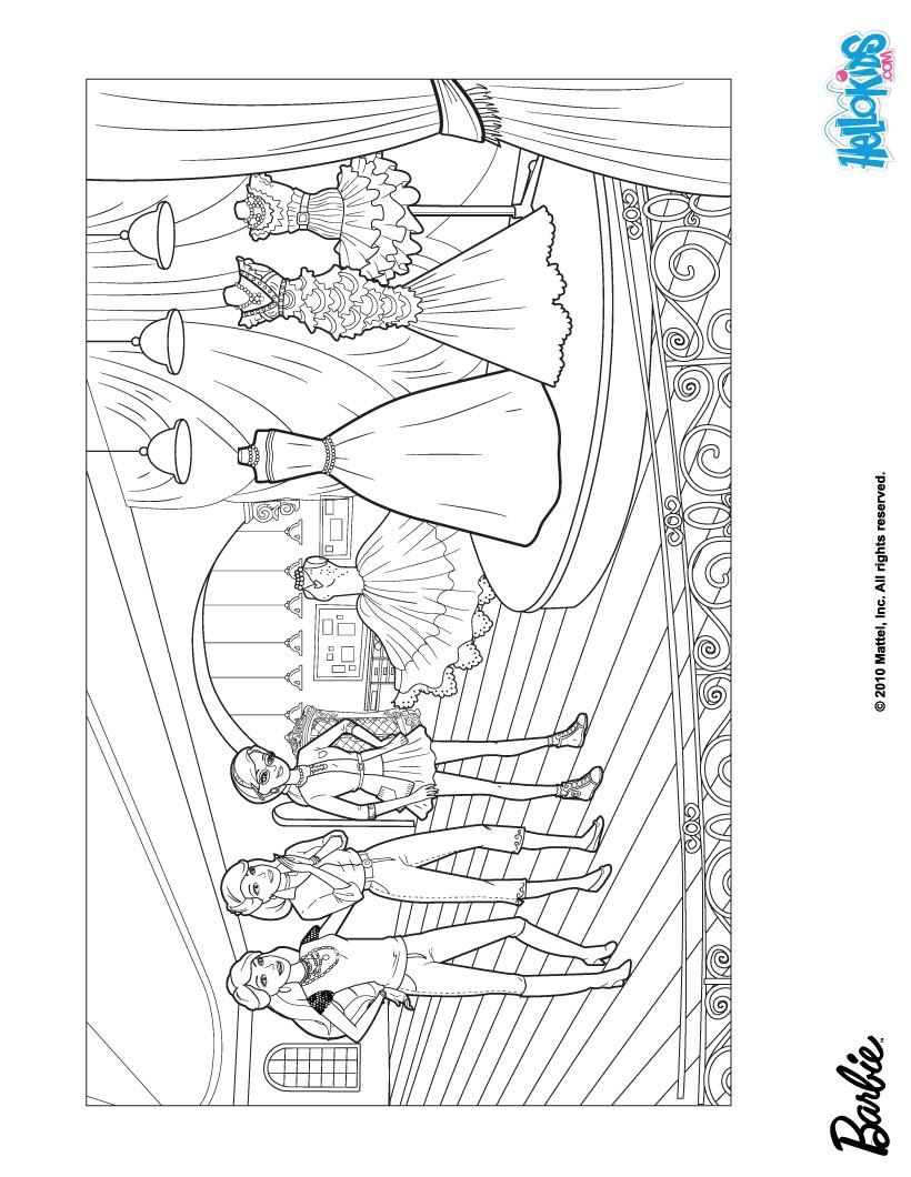 Barbie clipart colouring page fashion fairytale Printable  Fashion Fashion Pages