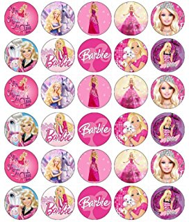 Barbie clipart cupcake topper Doll  Paper Toppers FREE