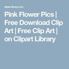 Barbie clipart flower 1:6 Free Clip Art Pink