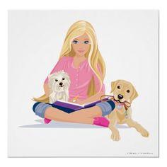 Barbie clipart flower  Pets CM Barbie Posters