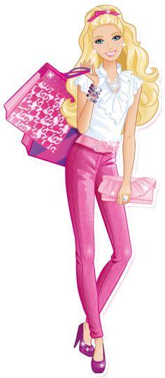 Barbie clipart for kid Meu de compras Barbie receitas