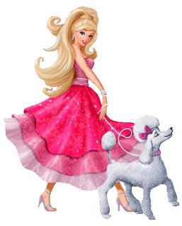 Barbie clipart for kid School: y Princess celebraciones y