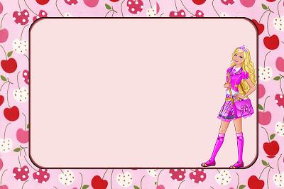 Barbie clipart frame Party Party Princess Printables Printables