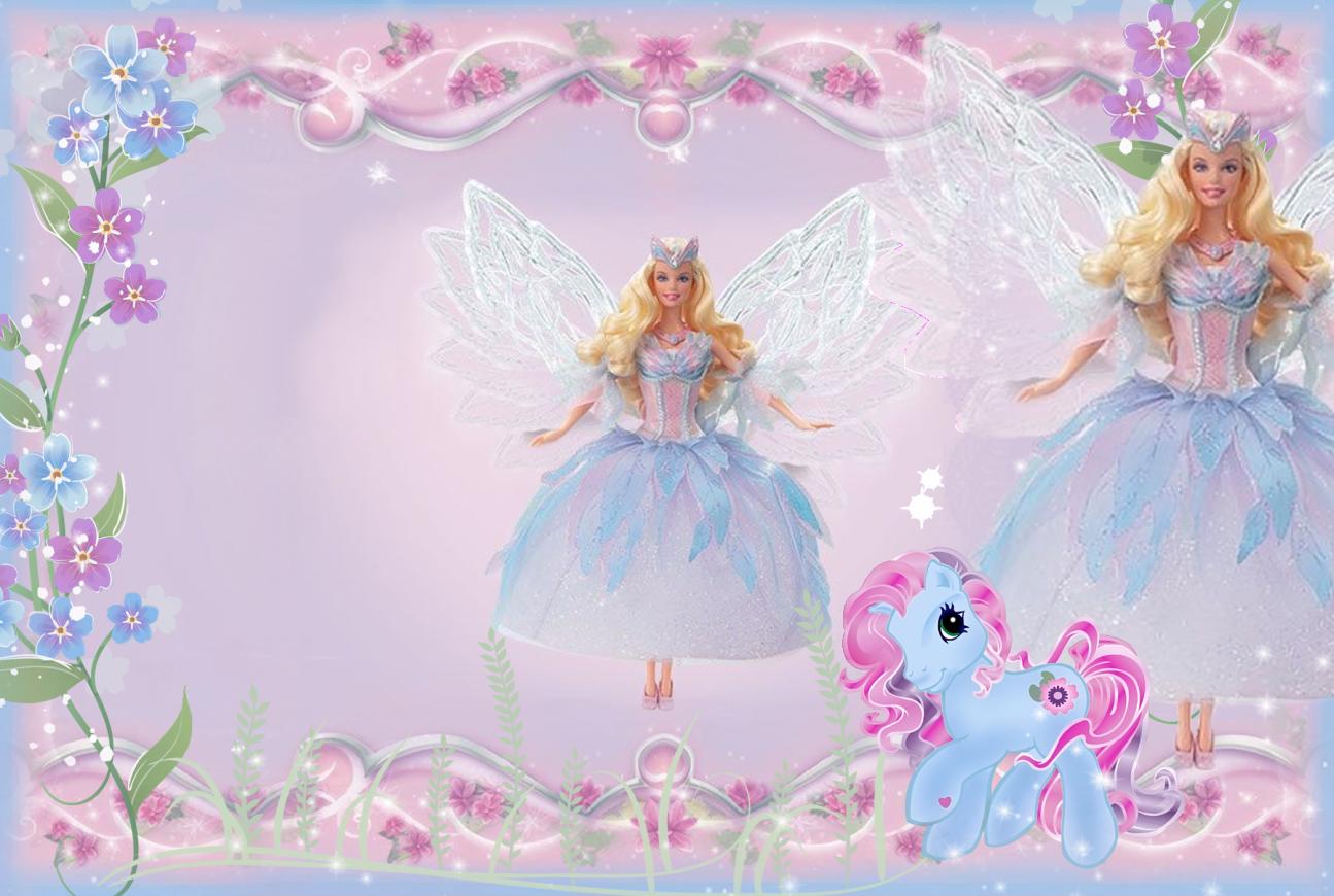 Barbie clipart frame Transparent Pony Frame full