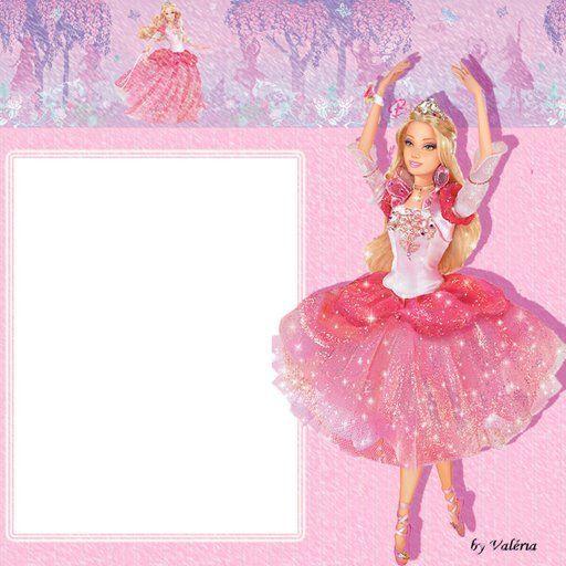 Barbie clipart frame Whos'Ken? Pinterest Barbie Pinterest Ballerina