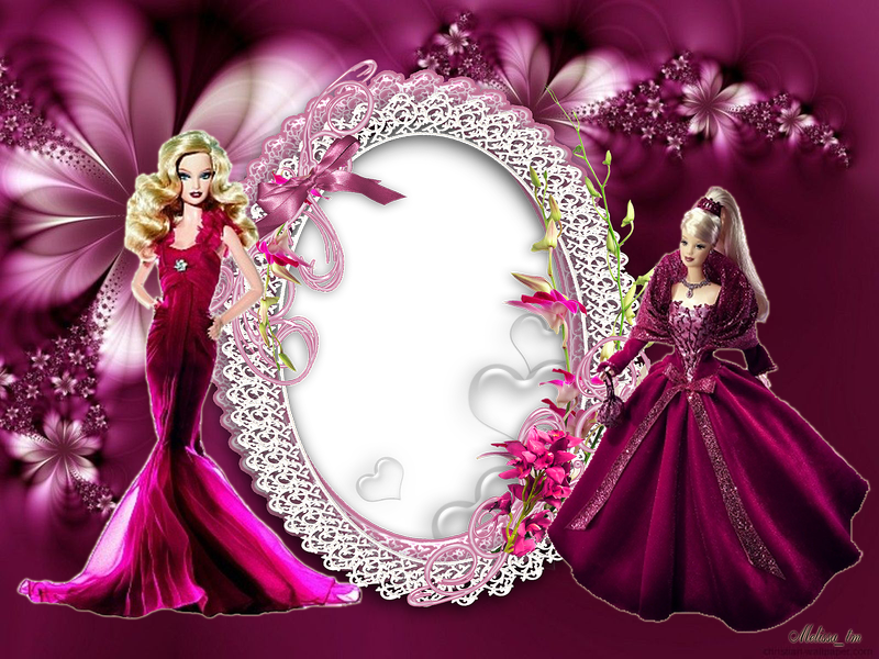 Barbie clipart frame Melissa Pinterest  and PSD