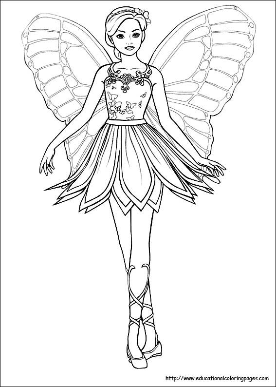 Barbie clipart line art Pin 434 Free page and