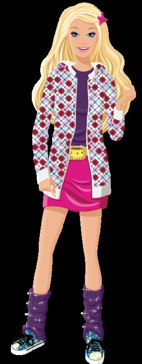 Barbie clipart line art ♛༻ PartyPaper Barbie · DollsMoralityClip