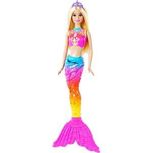 Barbie clipart pink mermaid Barbie® CFF49 Bubble Doll Mermaid
