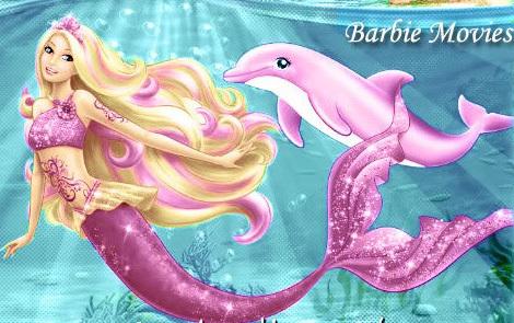 Barbie clipart pink mermaid Love as mermaid Barbie can't