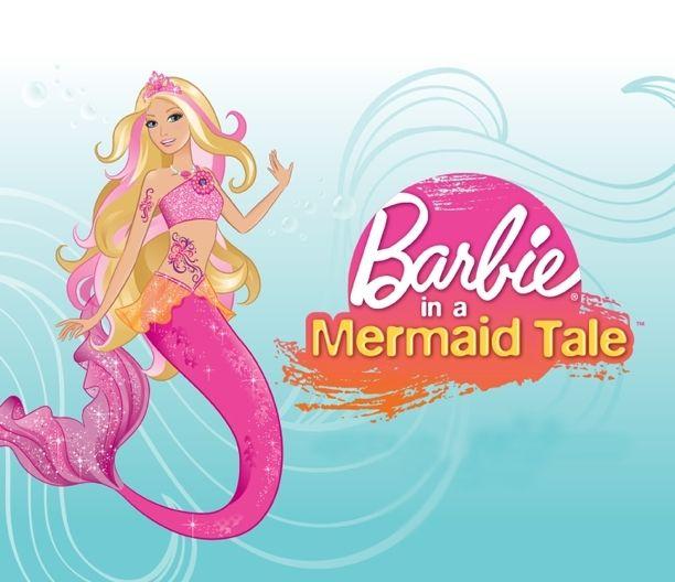 Barbie clipart pink mermaid Clipart on Mermaid images 49