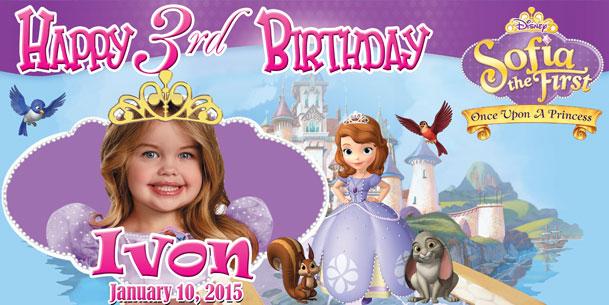 Barbie clipart tarpaulin Sofia Disney paographicstemplates on DeviantArt