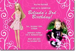 Barbie clipart tarpaulin Favors party Online Girls Birthday