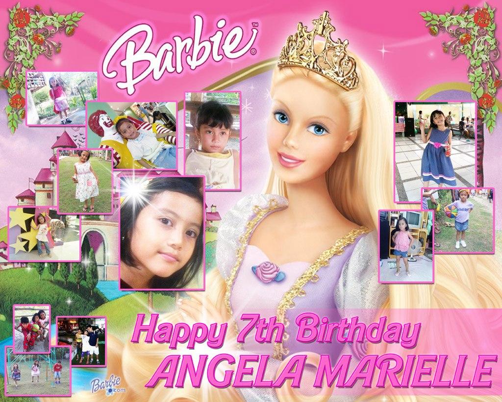 Barbie clipart tarpaulin And Balloons Party Supplies Tarpaulin