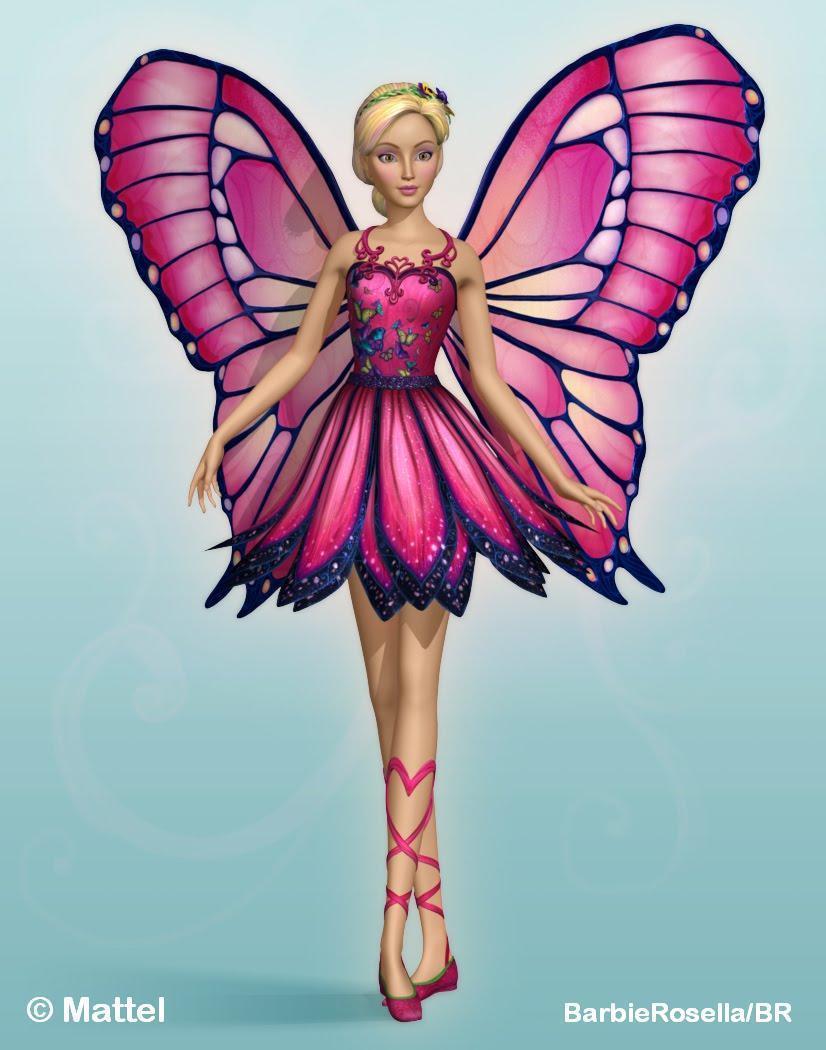 Barbie clipart wing wallpaper Barbie HD Mariposa Full High