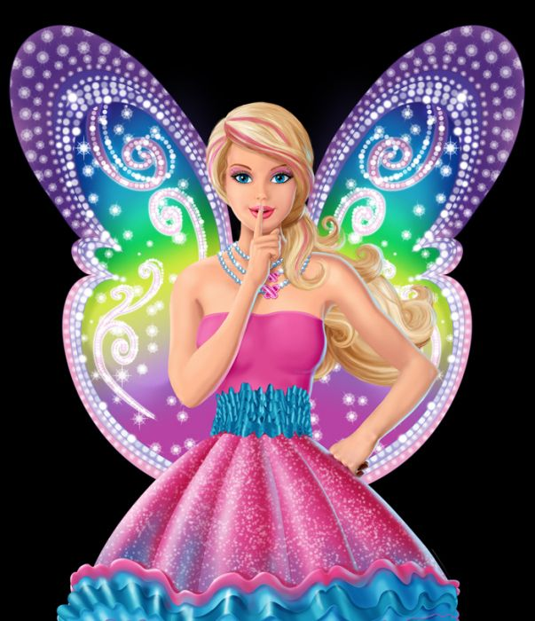 Barbie clipart wing wallpaper 14448060 best Barbie images Fairy