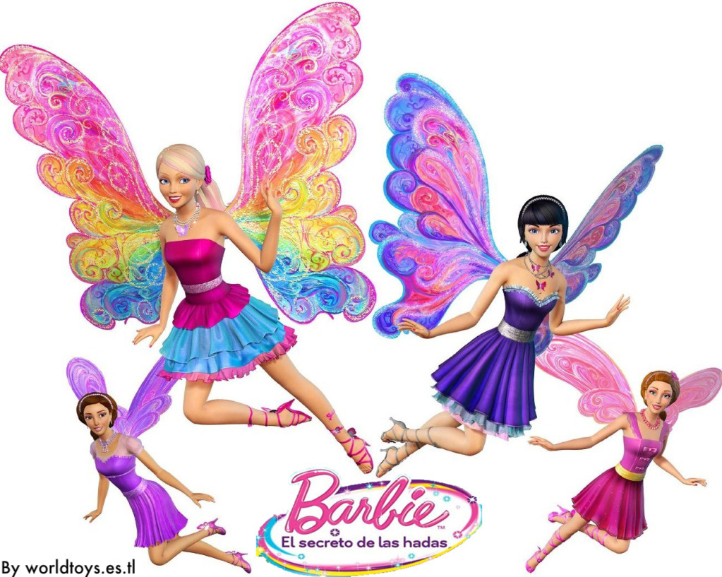 Barbie clipart wing wallpaper Secret Barbie (19819036) Barbie Movies
