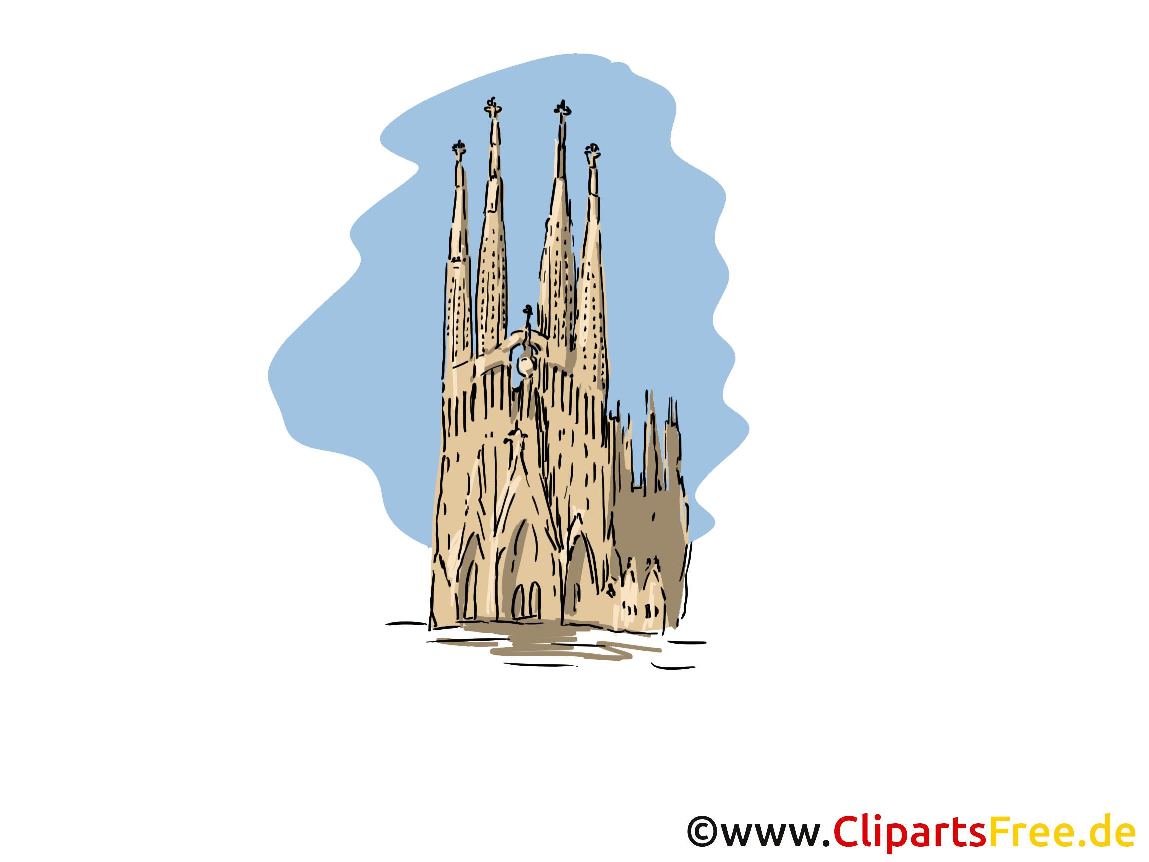 Barcelona clipart Clipart Barcelona Reisen