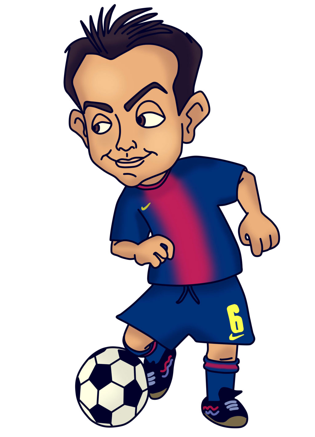 Soccer clipart funny football Barcelona fc clipart clipart Download