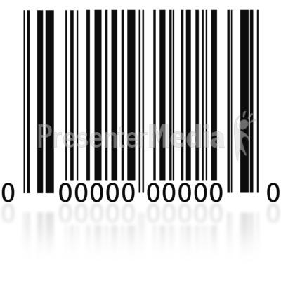 Barcode clipart sku Barcode and  Finance Clip