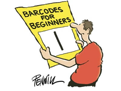 Barcode clipart cartoon Humor Tags: Striped Scandit Cartoons
