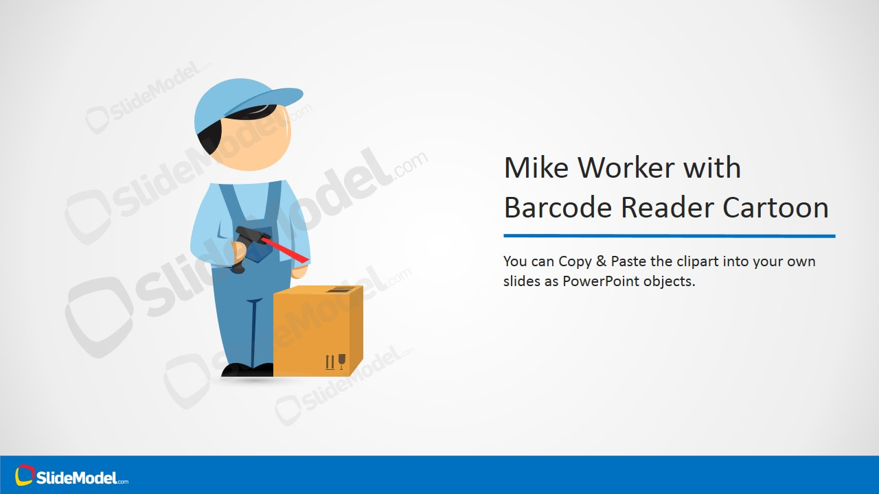 Barcode clipart cartoon #7