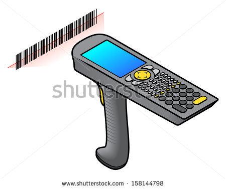 Barcode clipart cartoon #5